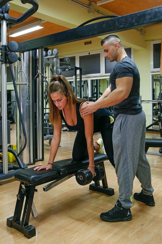 romeo fitultra personal trainer allenamento femminile